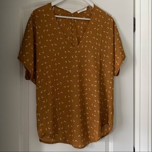 Brand New W/O Tags Short Sleeve Blouse